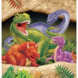 Tovaglia Plastica Dinosauri 137x274 cm