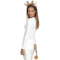 Set Animalier Coda Cerchietto Giraffa