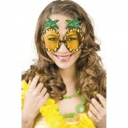 Occhiali Verdi Montatura Ananas