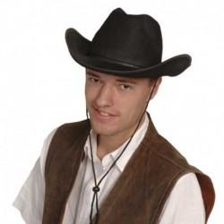 Cappello Cowboy Feltro Black
