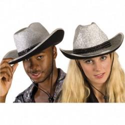 Cappello Cowboy Sparkling Silver