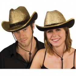 Cappello Cowboy Sparkling Gold