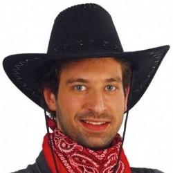 Cappello Cowboy Feltro Nero