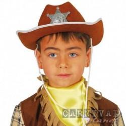 Cappello Cowboy Stella Sceriffo