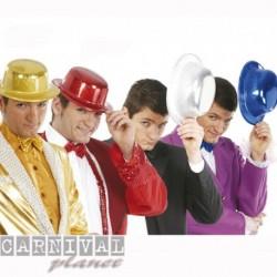 Cappello Bombetta Plastica Color