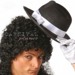 Cappello Gangster Anni 20 Nero