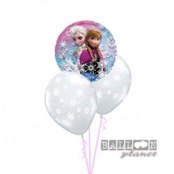 Bouquet 3 Palloni Frozen