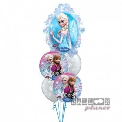 Bouquet 5 Palloni Frozen
