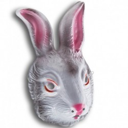 Maschera Plastica Coniglio