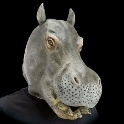 Maschera Lattice Ippopotamo