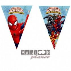 Festone Bandierine Spiderman 200 cm