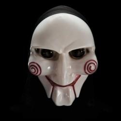 Maschera Plastica Burattino Saw
