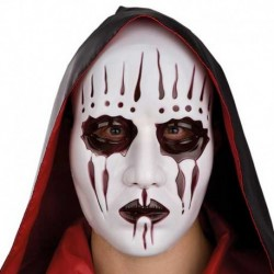Maschera Plastica Demone Insane