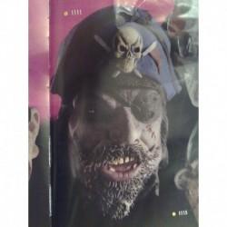 Maschera Lattice Pirata Horror