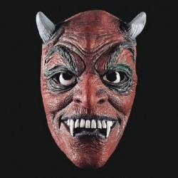 Maschera Lattice Diavolo Rosso