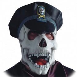 Maschera Lattice Teschio Poliziotto