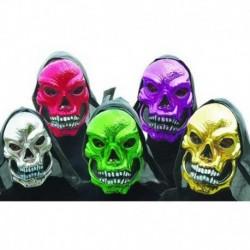 Maschera Plastica Teschio Icappucciato