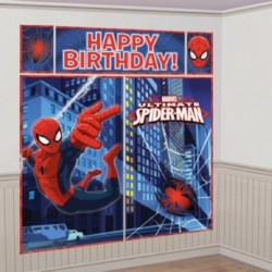 Fondale Parete Spiderman 190x165 cm