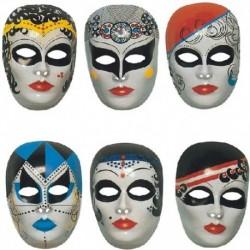 Maschera Plastica Viso Color