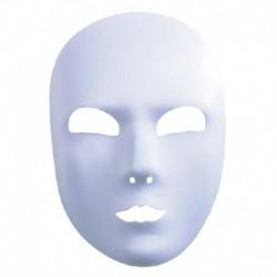 Maschera Tessuto Neutra Bianca