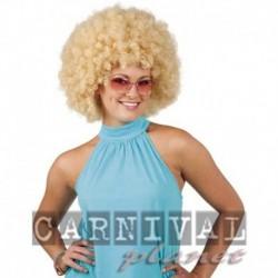 Parrucca Afro Blond