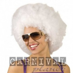 Parrucca Afro White