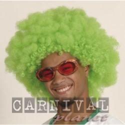 Parrucca Afro Green