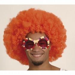 Parrucca Afro Orange