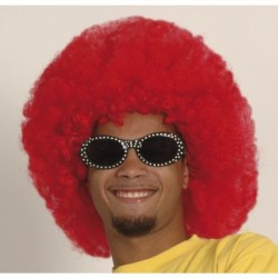Parrucca Afro Red