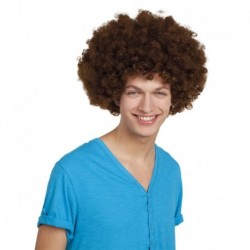 Parrucca Afro Brown
