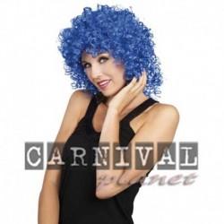 Parrucca Riccia Club Blue