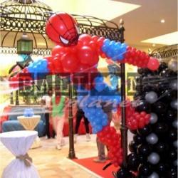 Decorazione Spiderman Tridimensionale