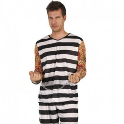Costume Tattoo prisoner