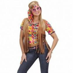 Gilet Hippie Fascia Testa Anni 70