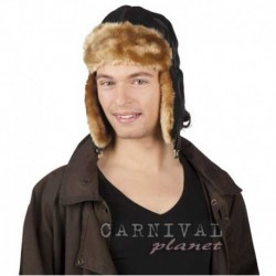 Cappello Aviatore similpelle