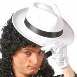 Cappello Borsalino Velluto Bianco