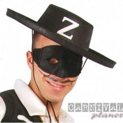 Cappello Zorro Adulto Nero