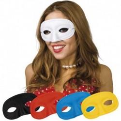 Maschera Tessuto Domino Color