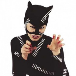 Maschera Tessuto Cat Woman