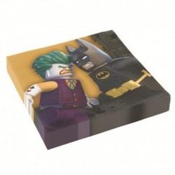 20 Tovaglioli Carta Batman 33x33 cm