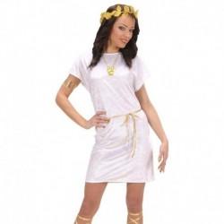 Costume Tunica bianca corta
