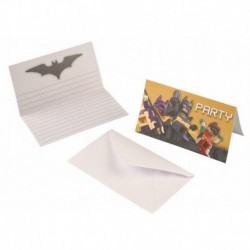 8 Invitie e Buste Lego Batman