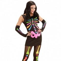 Costume Skeleton Neon