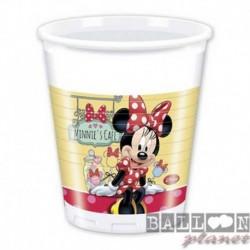 8 Bicchieri Plastica Minnie 200 ml