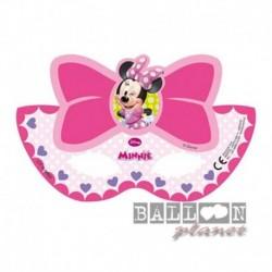 6 Maschere Minnie Mouse