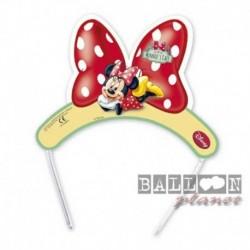 6 Cerchietti Tiara Minnie Mouse