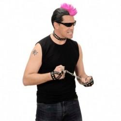 Set Similpelle Borchiato Punk Rock