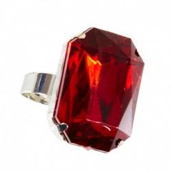Anello Vampiro Pietra Rossa