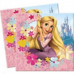 20 Tovaglioli Carta Rapunzel 33x33 cm