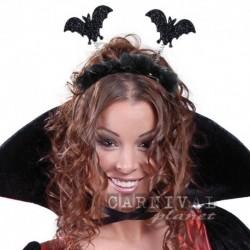 Cerchietto Halloween Pipistrelli